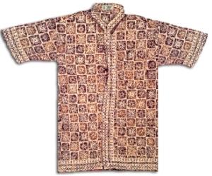 hem batik cowok fix